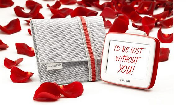 "TomTom Start v limitované edici ""I'd be lost without you""."