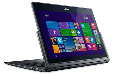 Acer Aspire R13 - režim displej