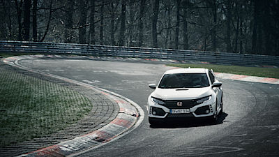 Honda Civic Type-R na Nürburgringu