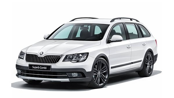 Škoda Superb Combi s paketem Outdoor
