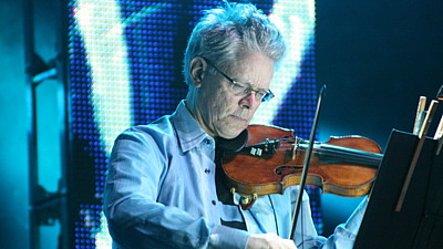 Houslista Krosnos Quartetu David Harrington
